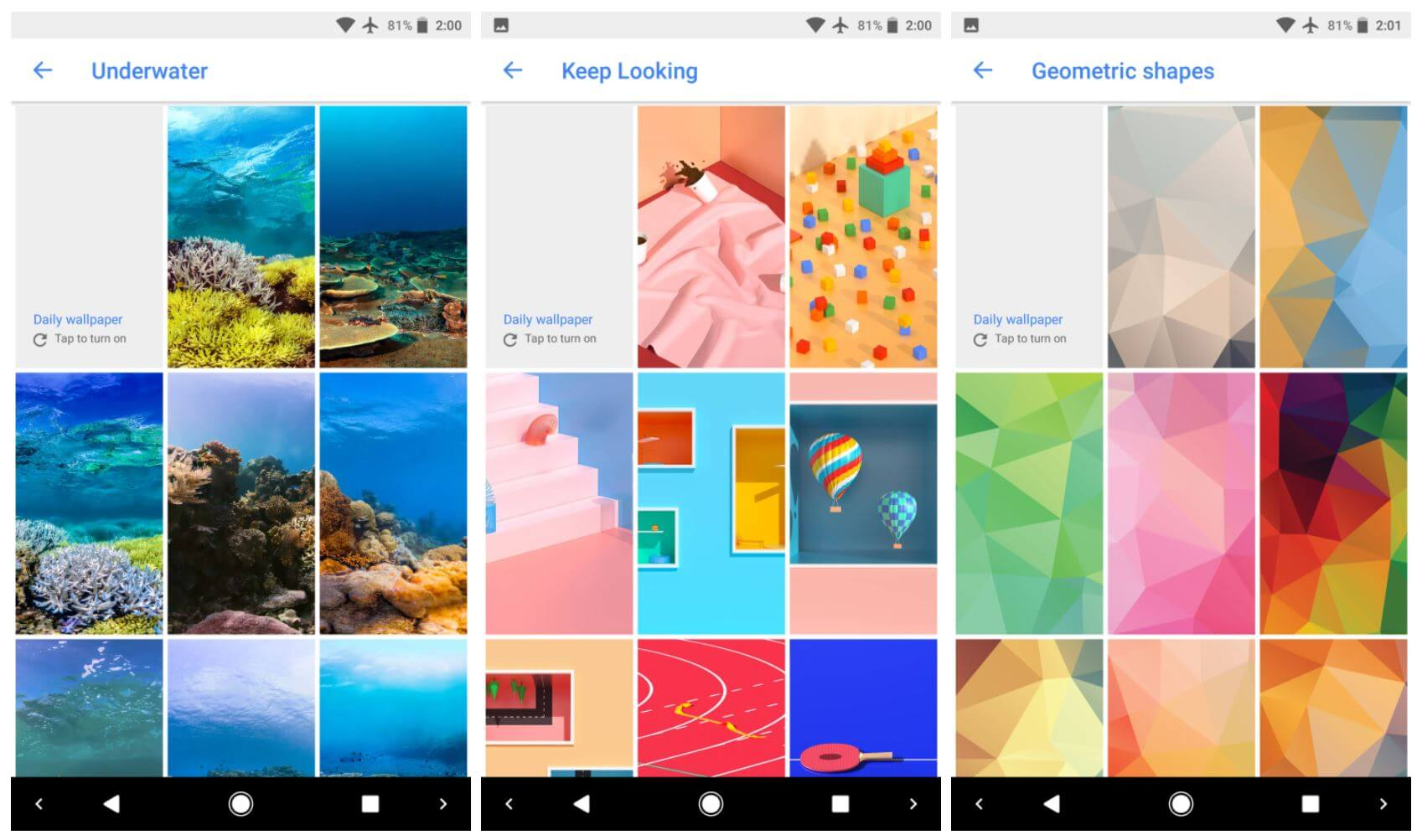 google wallpapers new