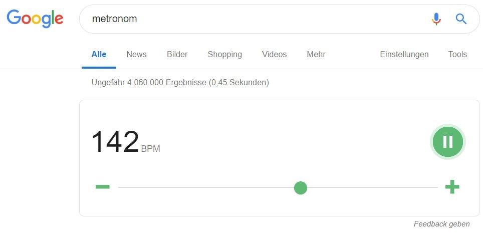 google websuche metronom