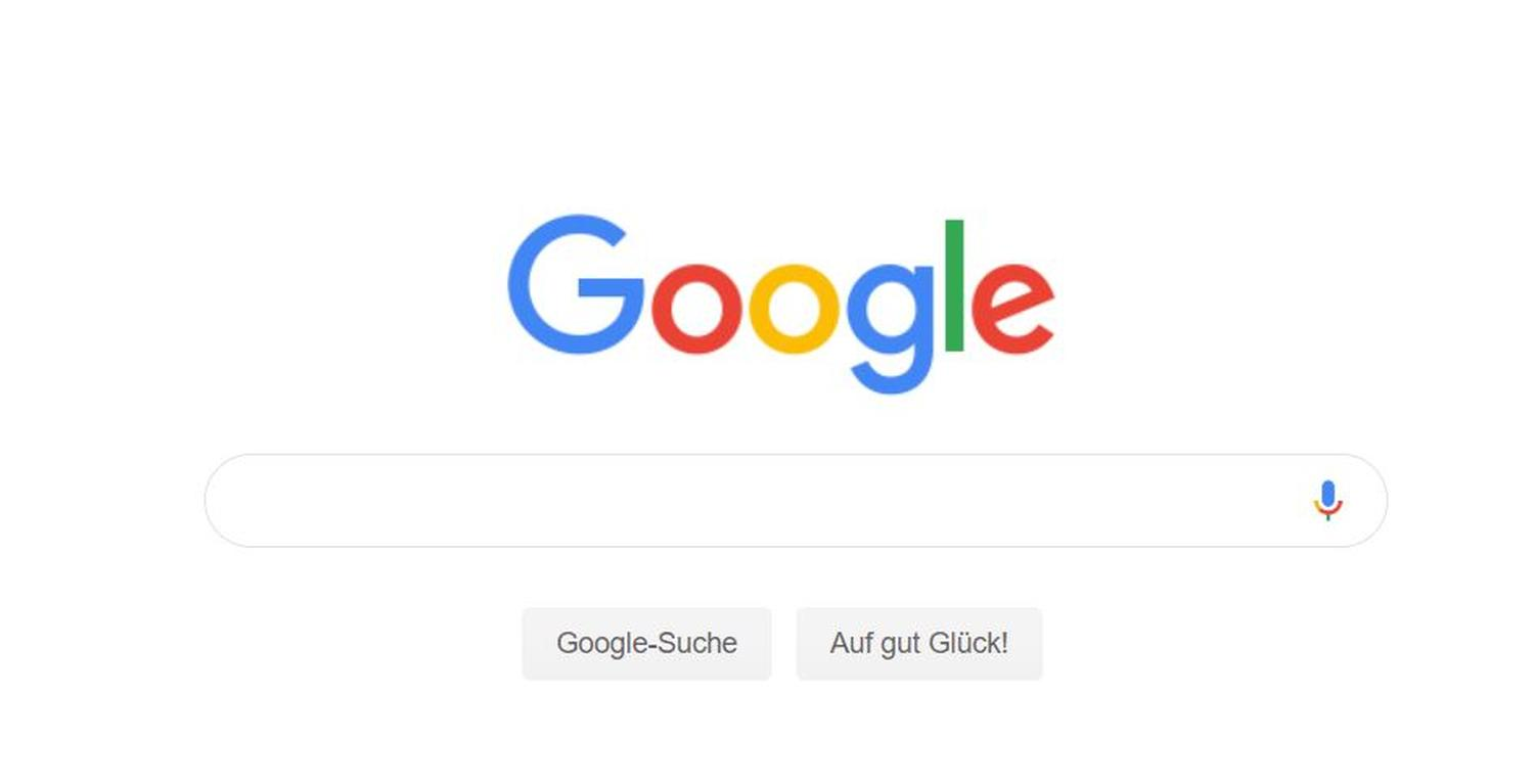 google websuche neues design