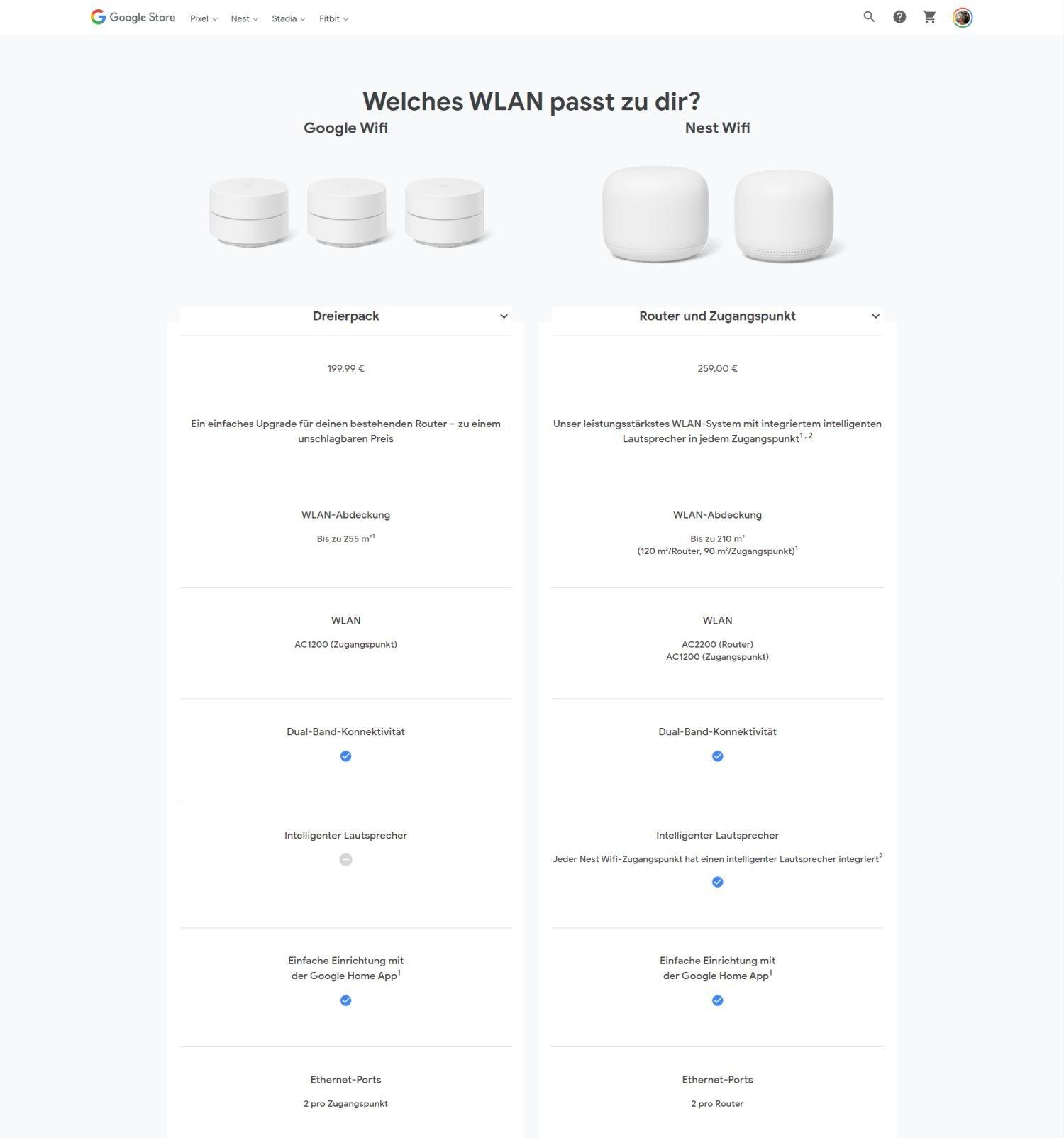 google wifi neu