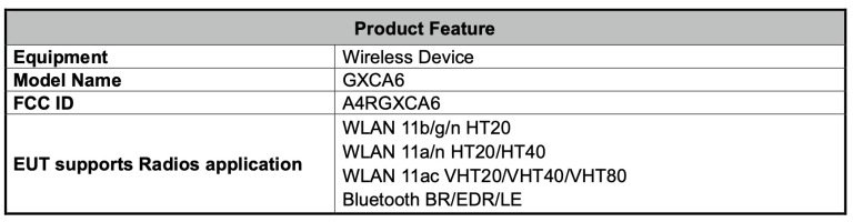 google wireless device july 2020