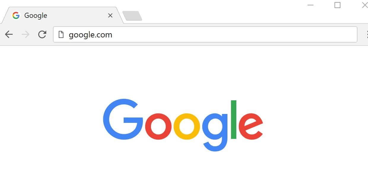 google.com screen