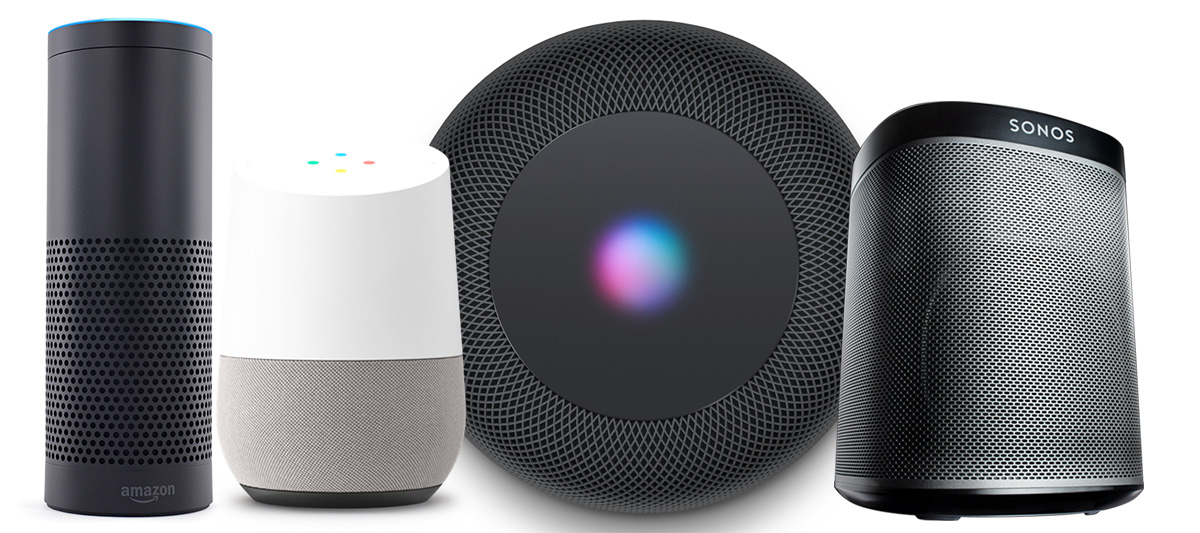 homepod echo home sonos