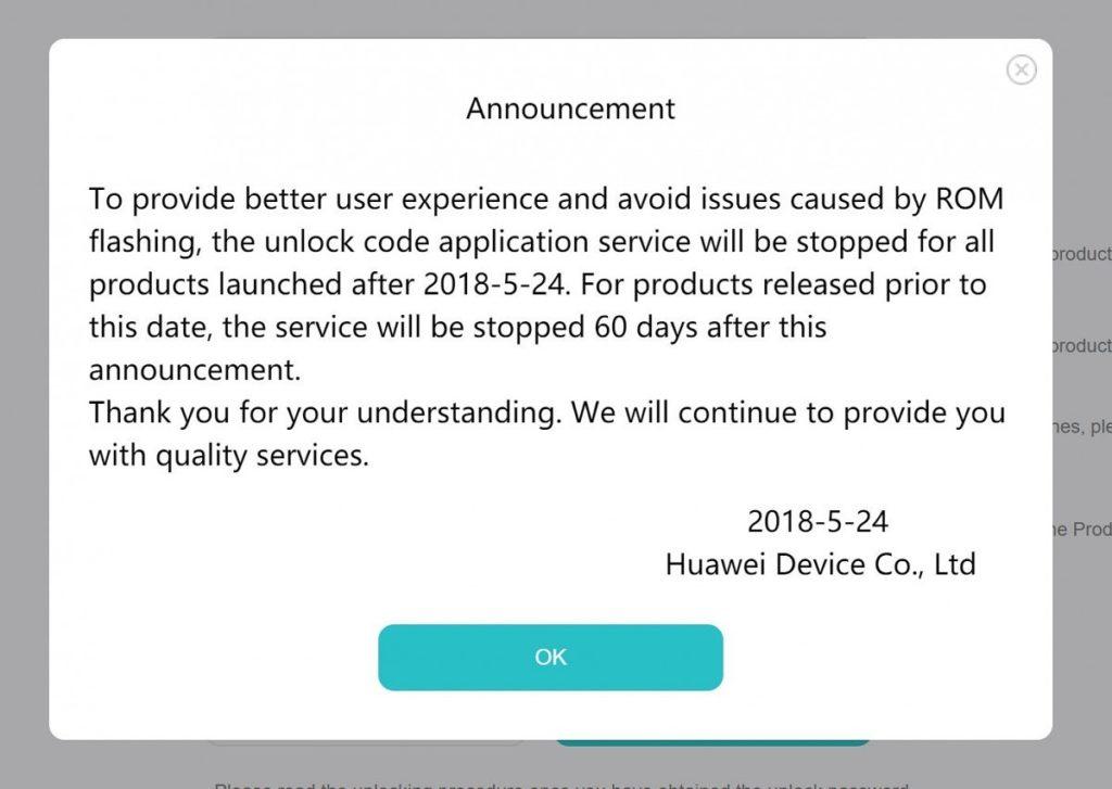 huawei announcement