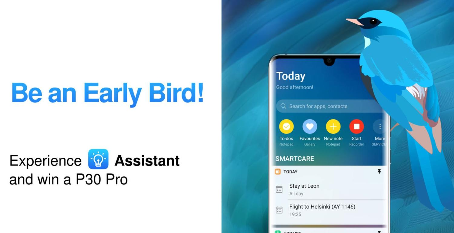 huawei assistant promo