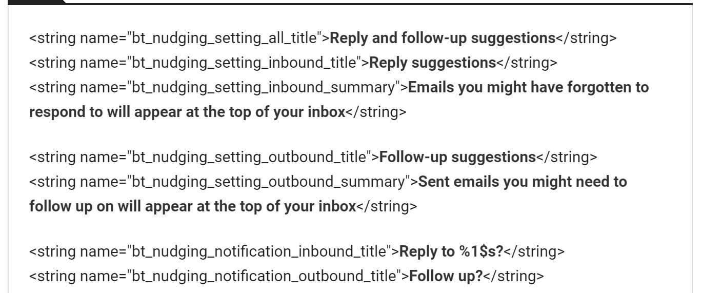 inbox follow up
