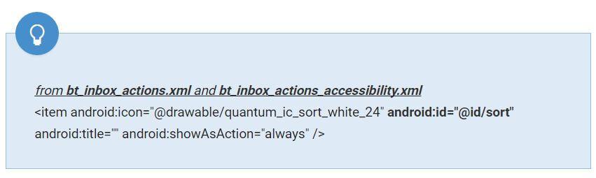 inbox sort