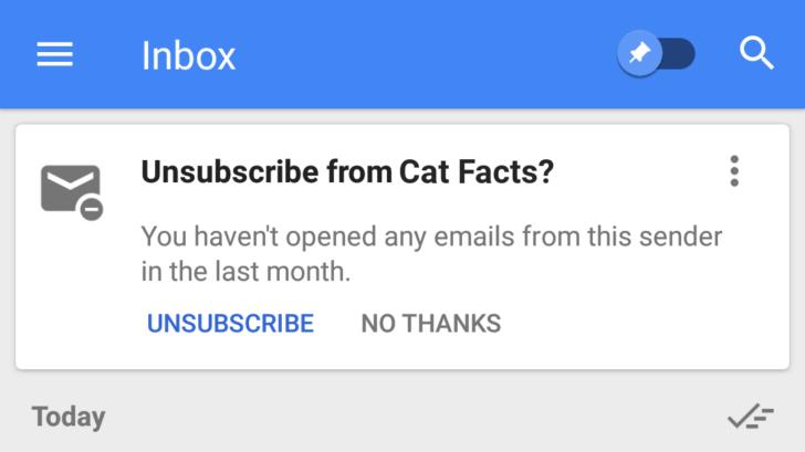 inbox unsubscribe