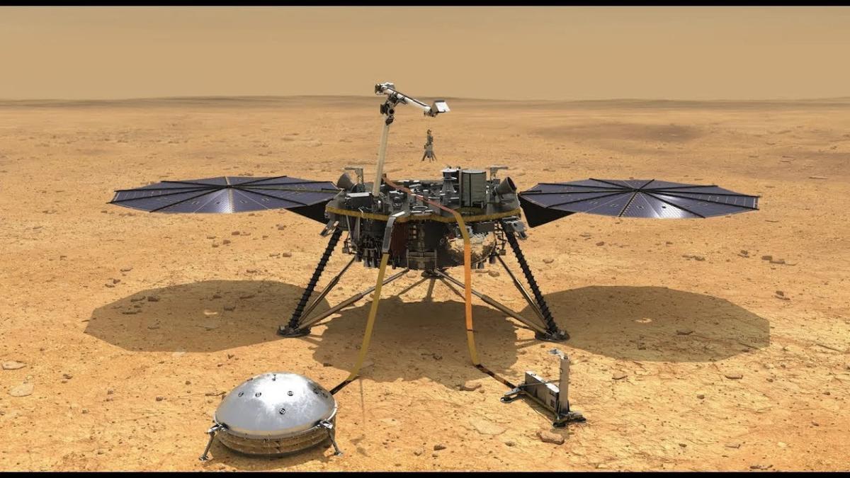 insight mars roboter livestream