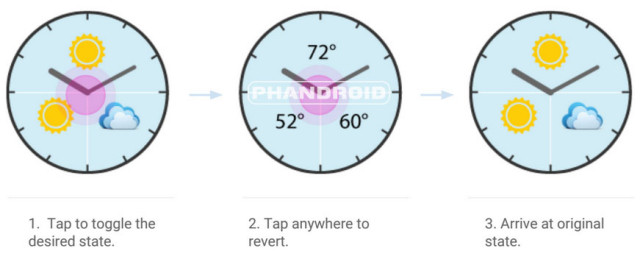 interactive watch face 3