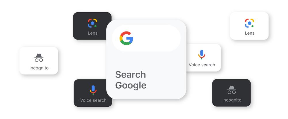 iphone 12 widget google