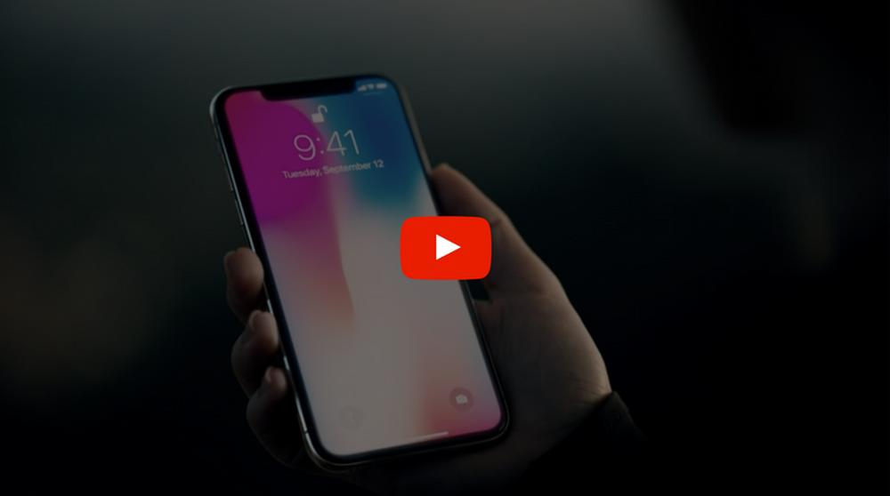 iphone x youtube