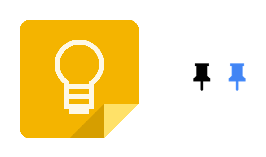 Google Keep Pin