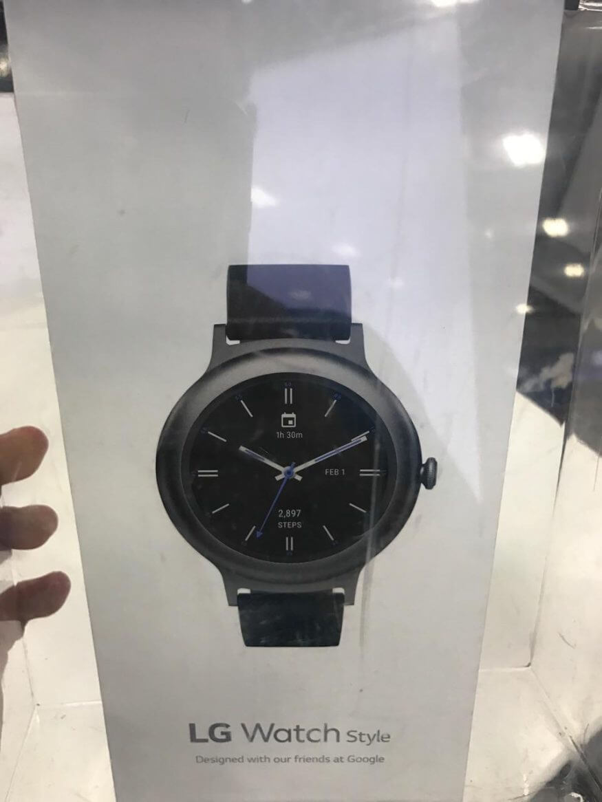 lg watch style carton