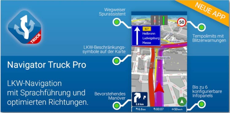 mapfactor navigator truck cover