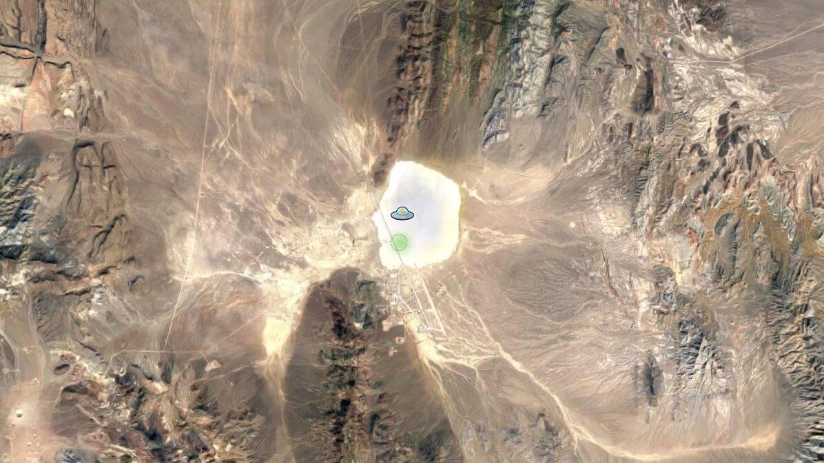 maps pegman ufo