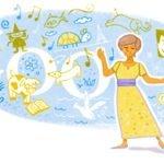83. Geburtstag von María Elena Walsh - 1. Februar (Argentinien)