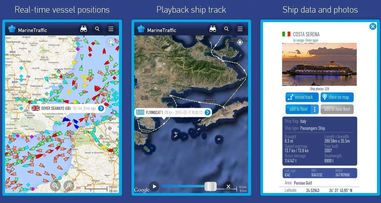 marinetraffic screenshots