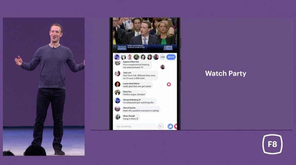 mark zuckerberg us congress watch party