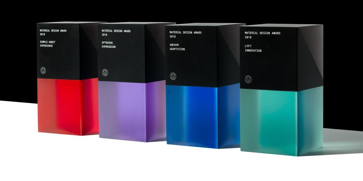 material design awards 2018
