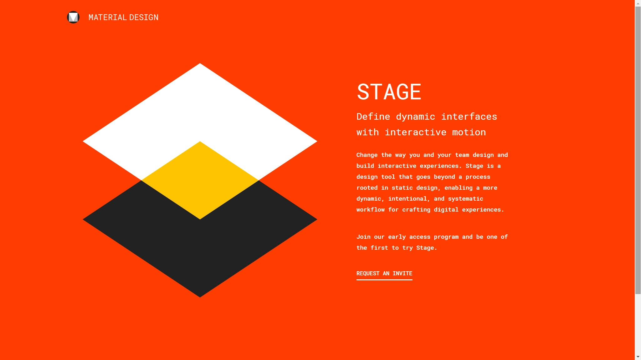 material-design-stage