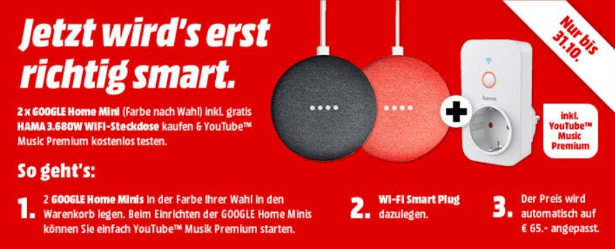 media markt aktion home mini