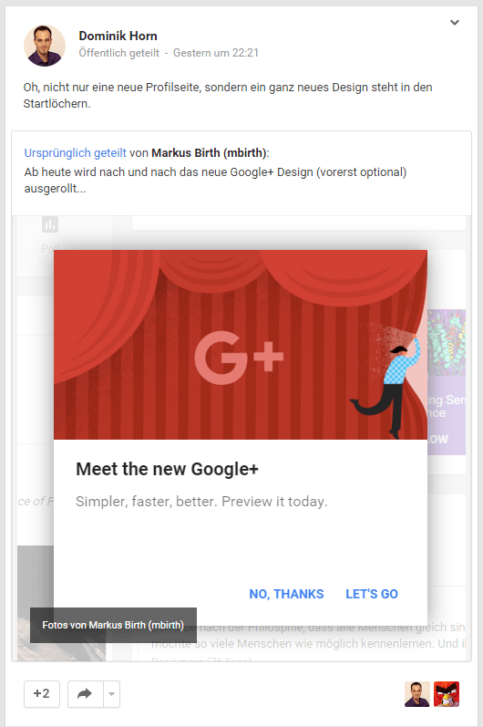meet the new google plus