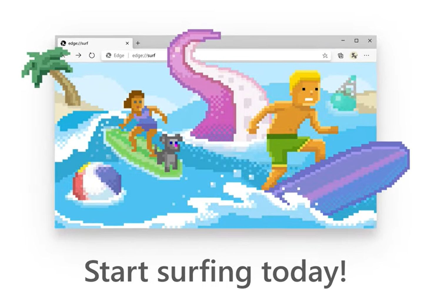 microsoft edge surf game