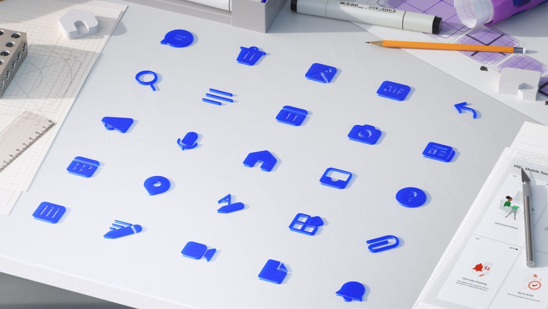 microsoft fluent design icons