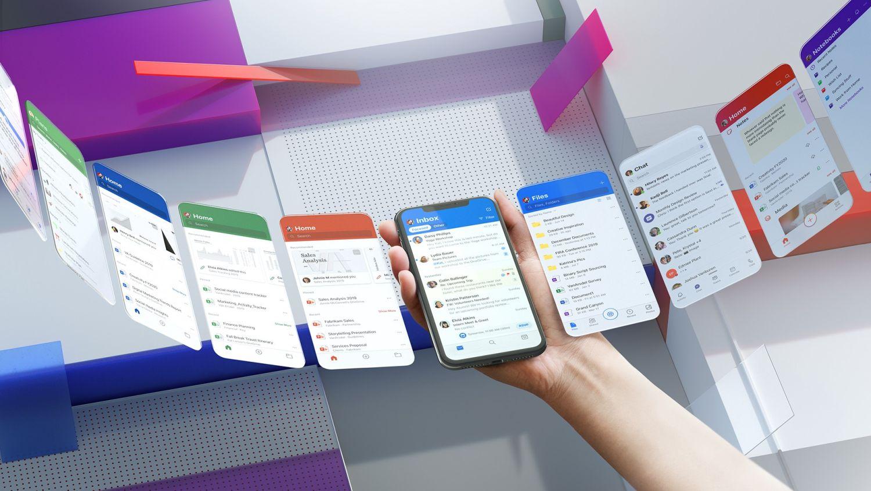 microsoft fluent design smartphone