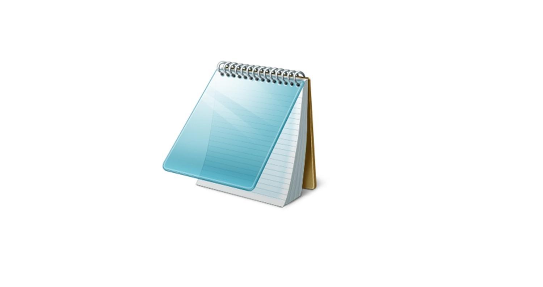 microsoft windows notepad logo