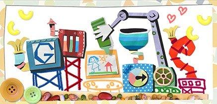 Google Doodle Muttertag 2013