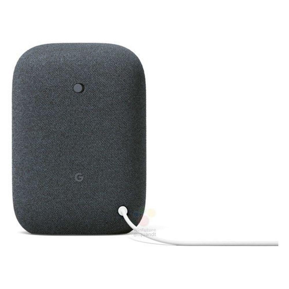 nest audio smart speaker back