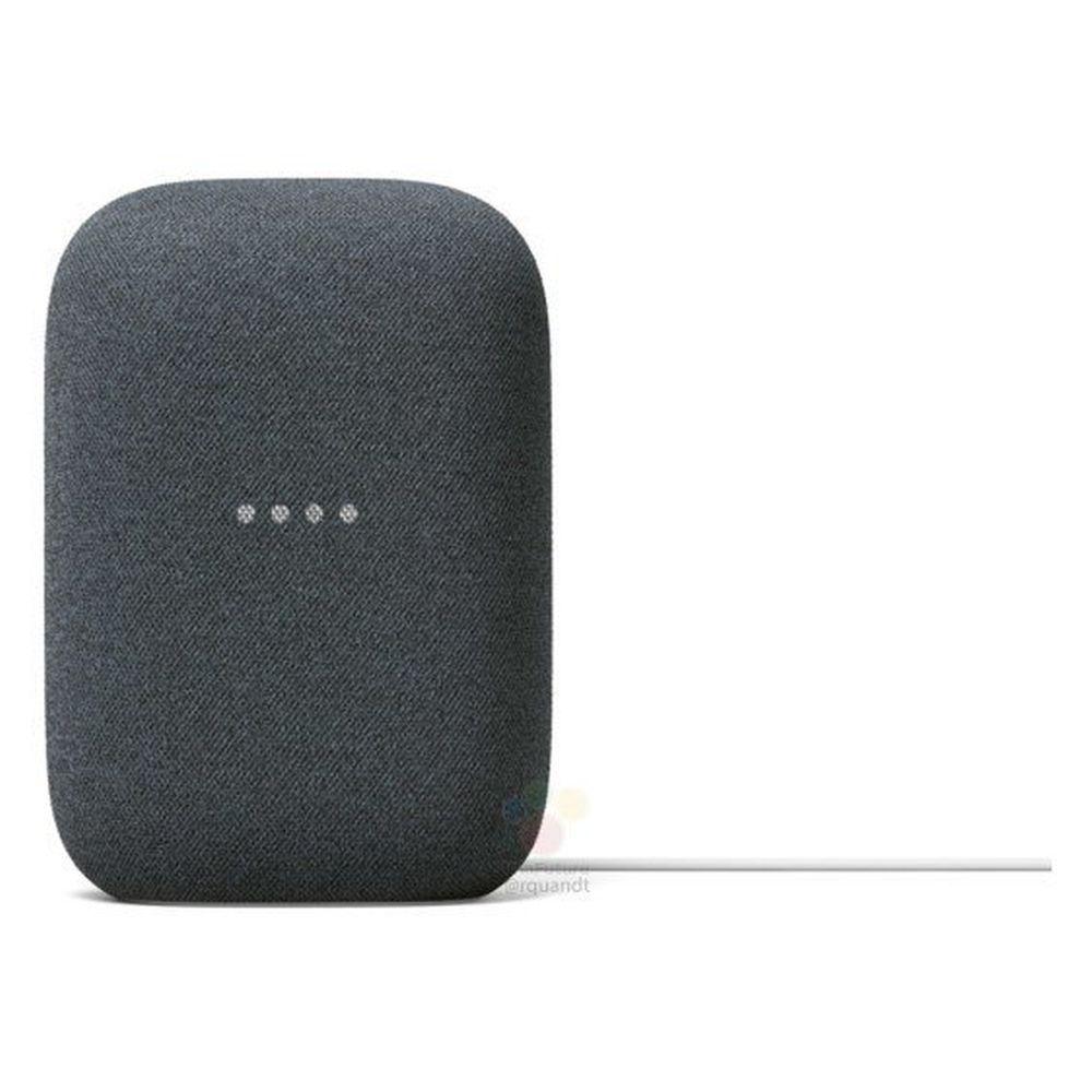nest audio smart speaker front