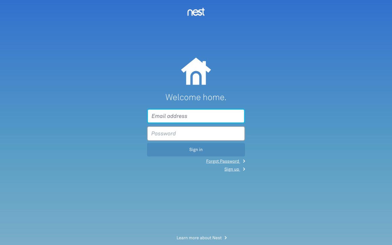 nest login
