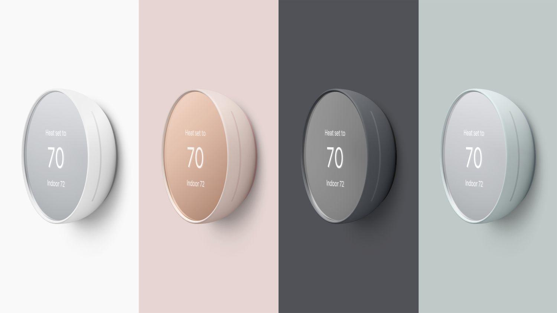 nest thermostat farben