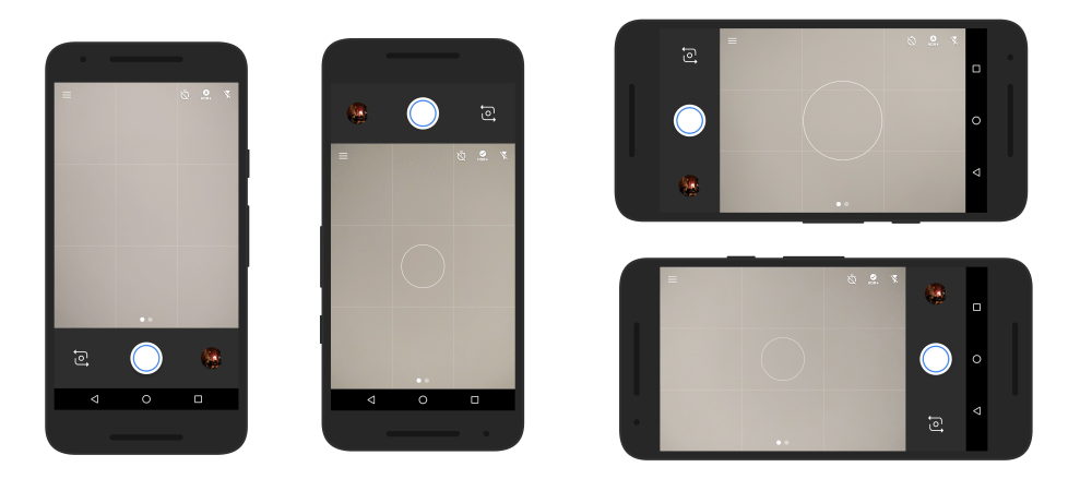 nexus camera button