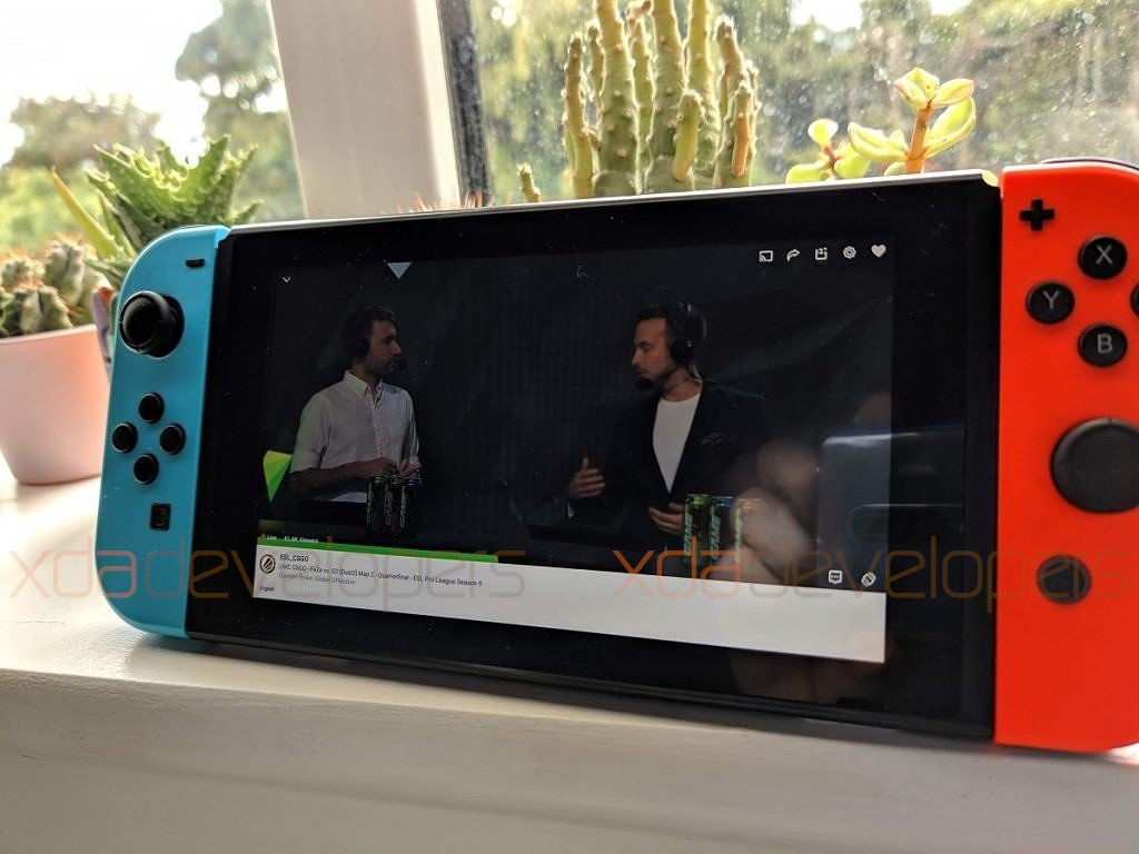 nintendo switch android video