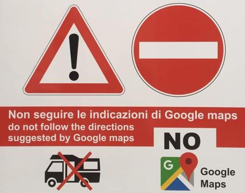 no google maps