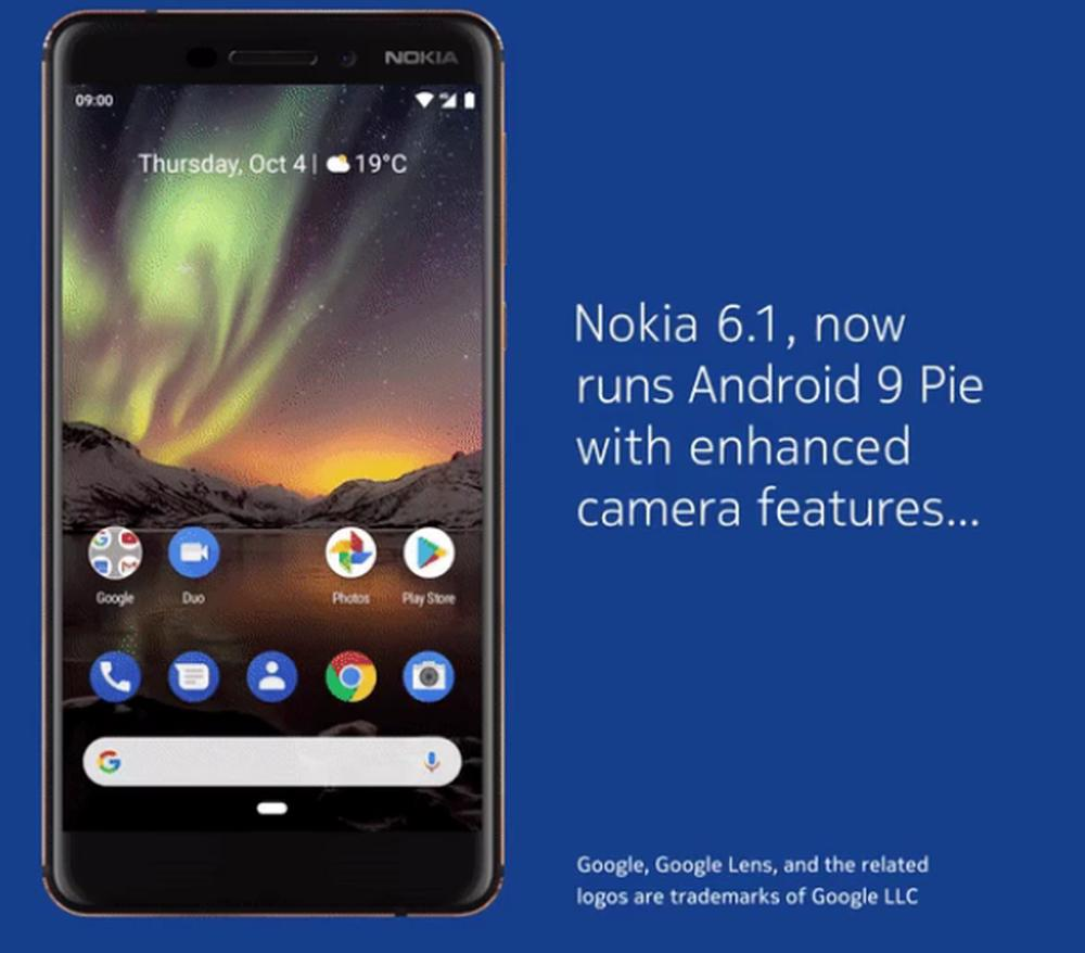nokia 61 android pie