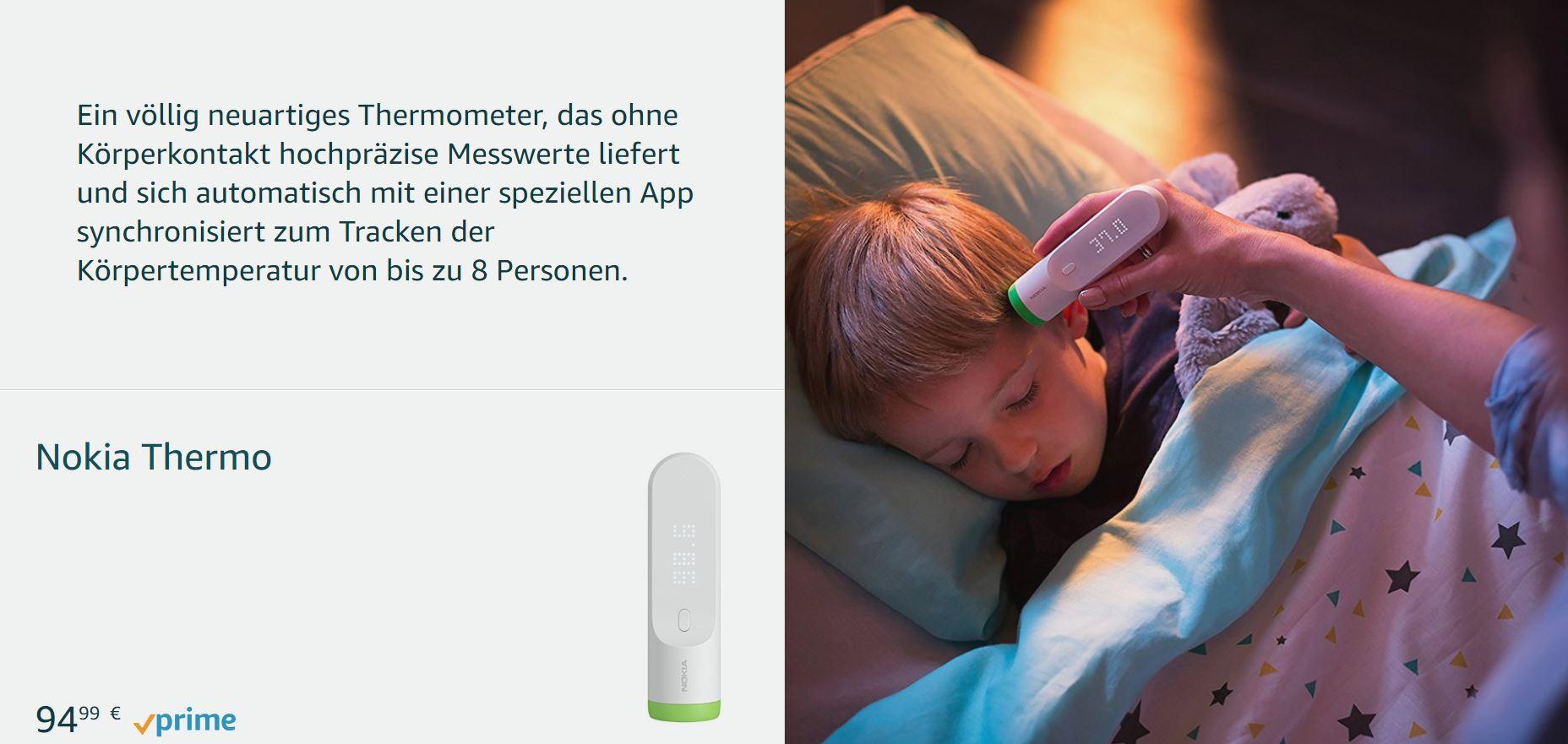 nokia thermometer
