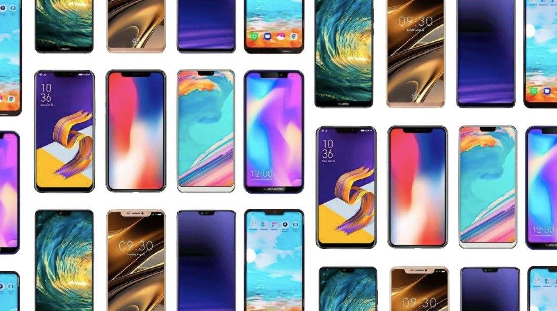 notch smartphones