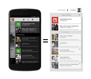 Benachrichtigungen auf Google+