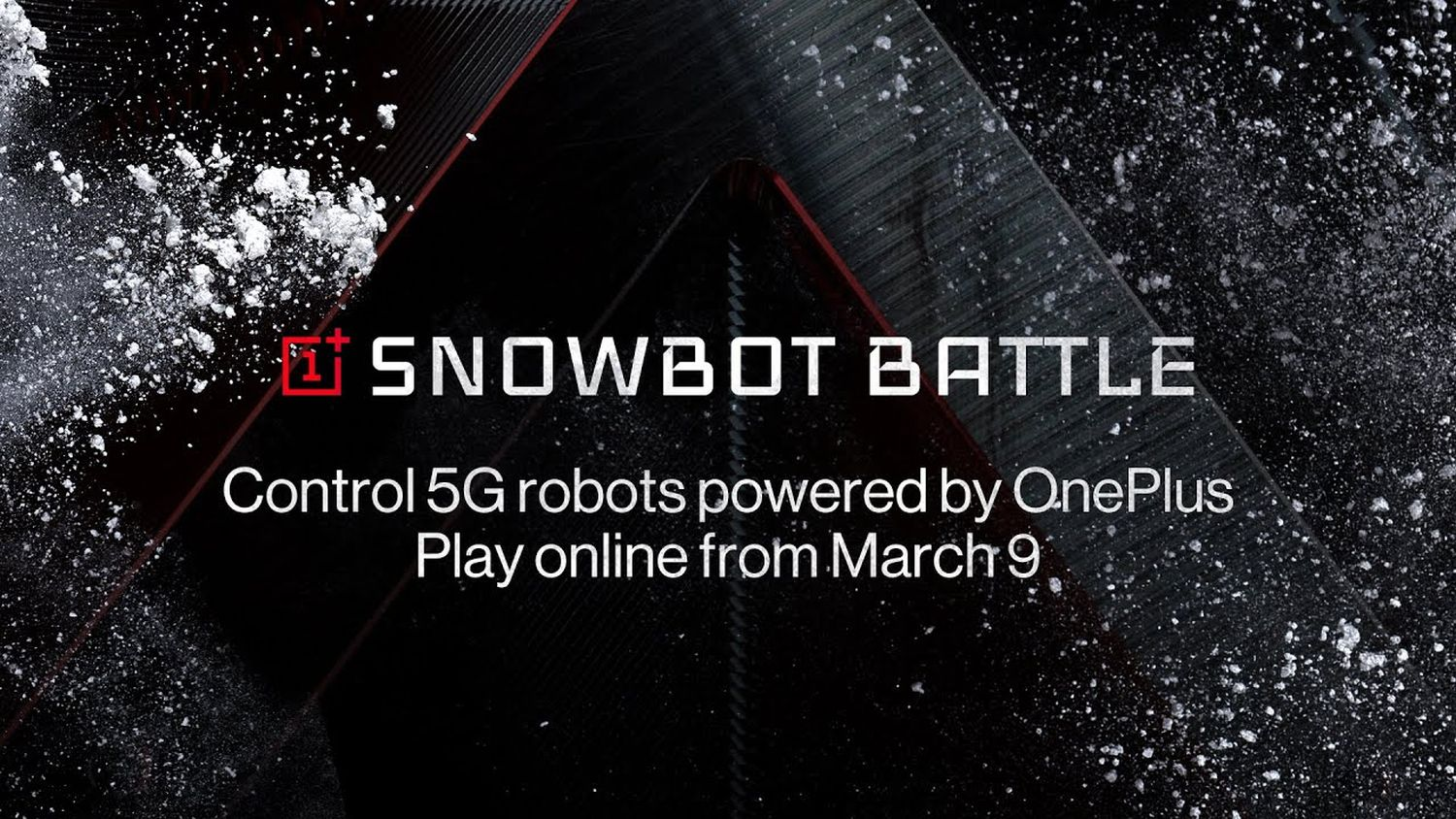 oneplus snowbot battle livestream youtube