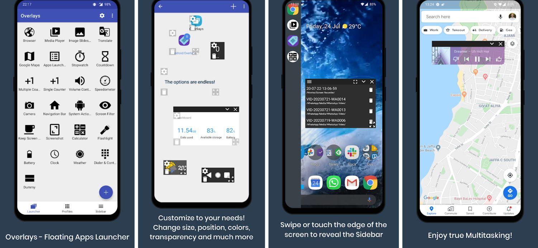 overlays screenshots