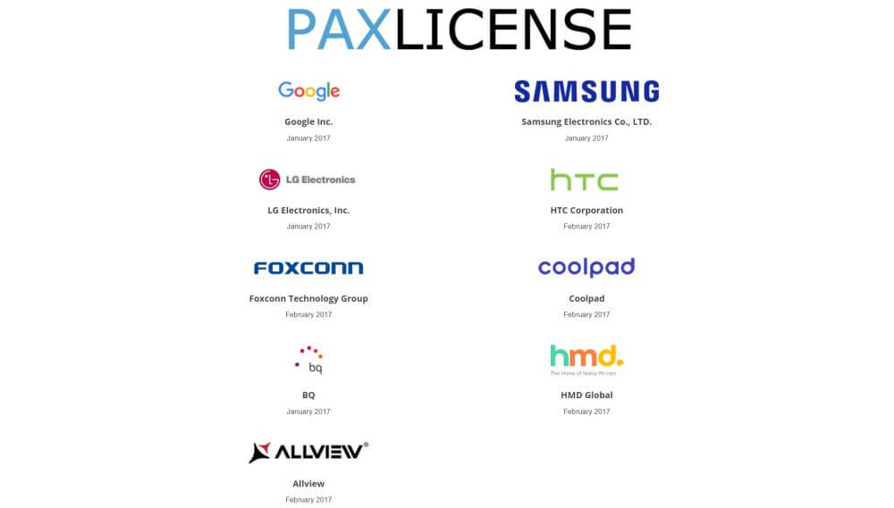 pax license android