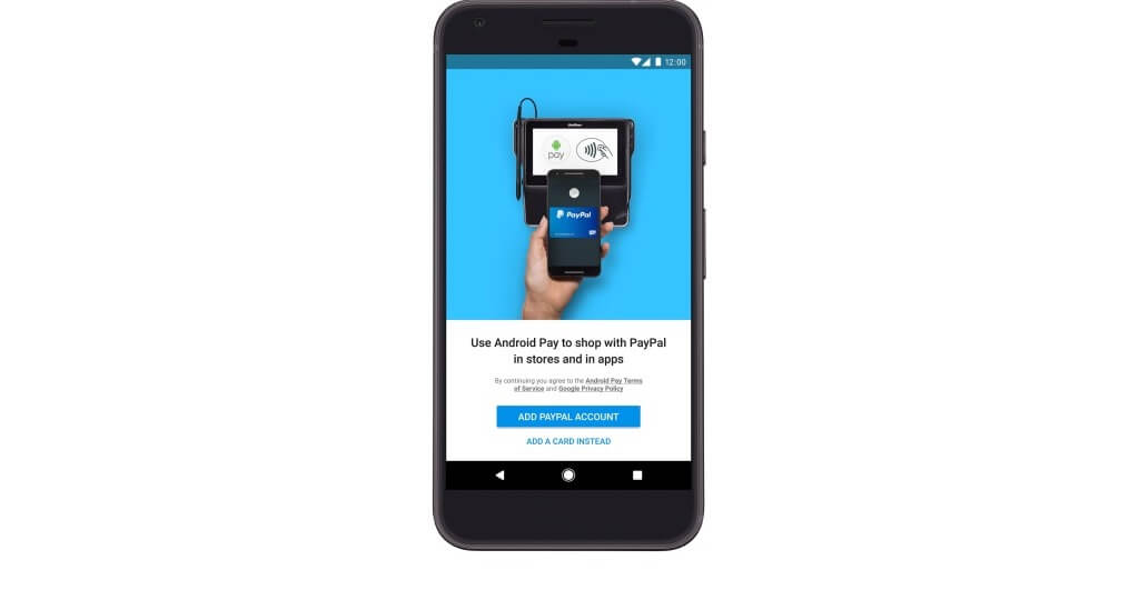 paypal android pay