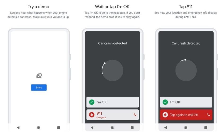 personal safety app screenshot