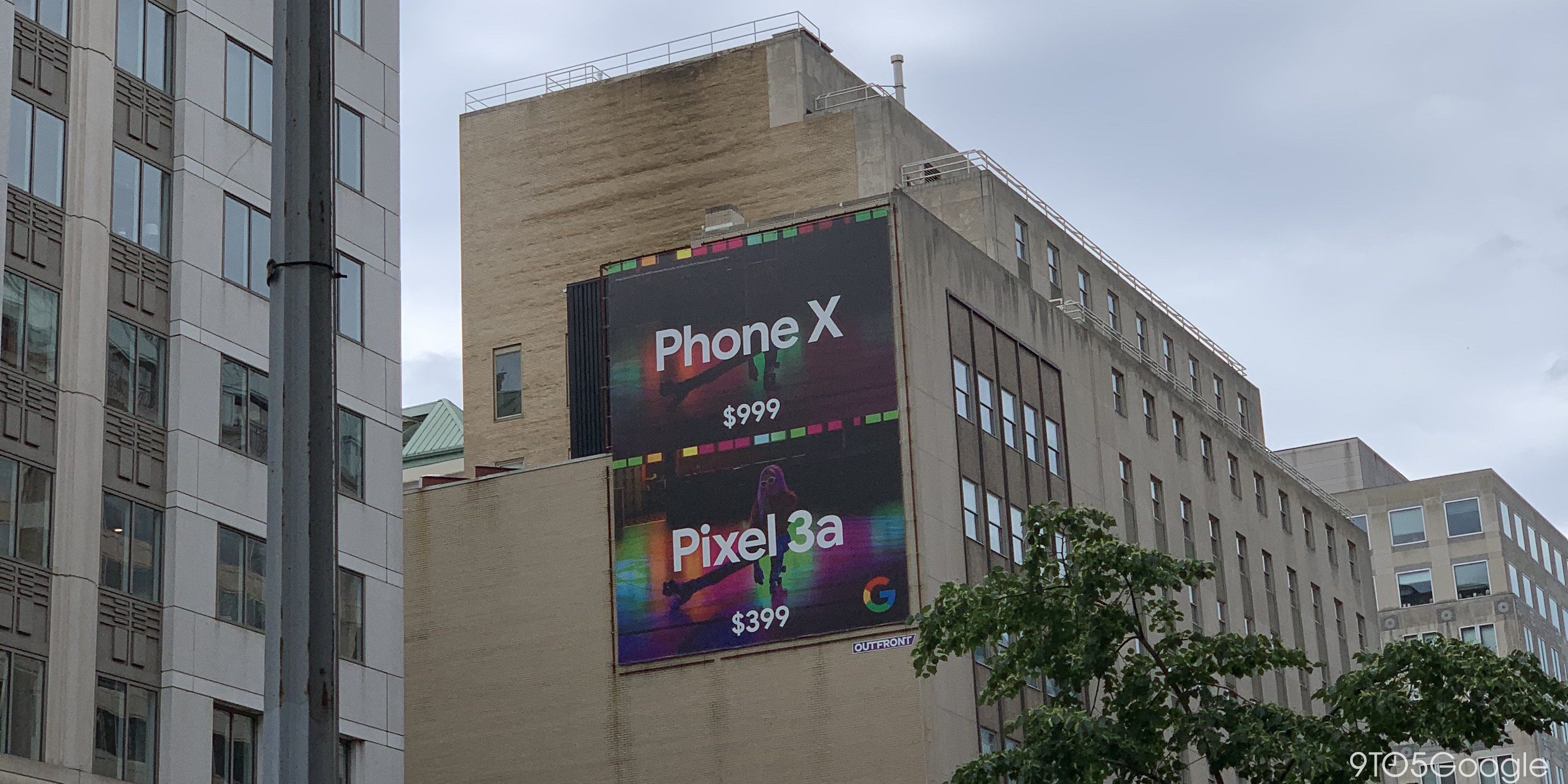 phone x vs pixel 3a werbung