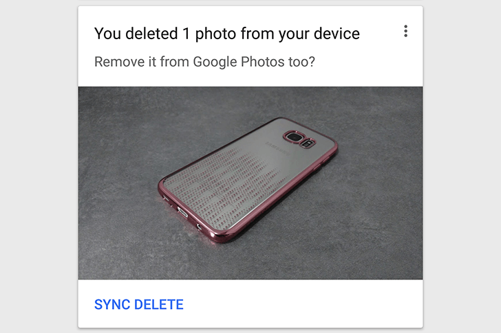 photos sync delete